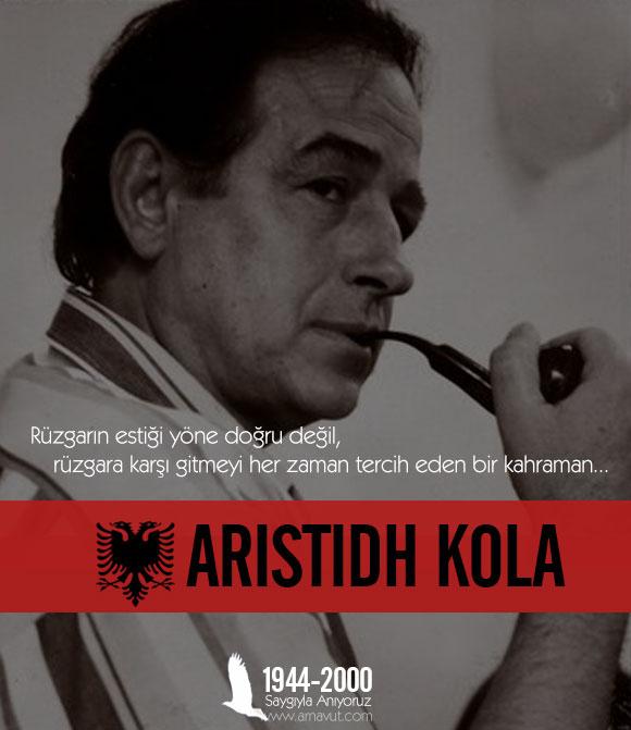 Bir Arnavut Kahramanı: Aristidh Kolia