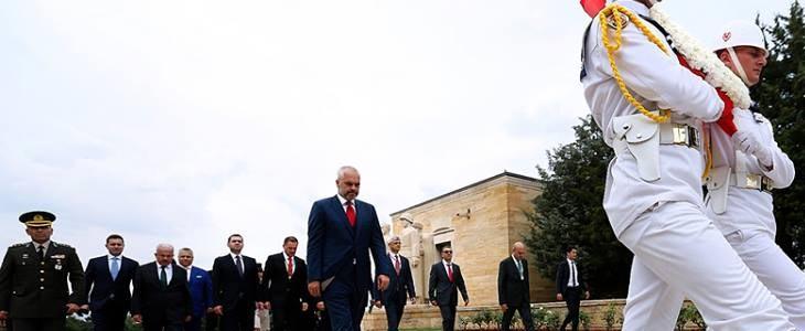 Arnavutluk Başbakanı Edi Rama Türkiye'de