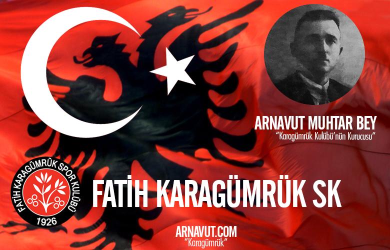 Karagümrük Kulübü'nün ilk Başkanı Arnavut Muhtar Bey