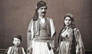 Eski bir Arnavut ailesi