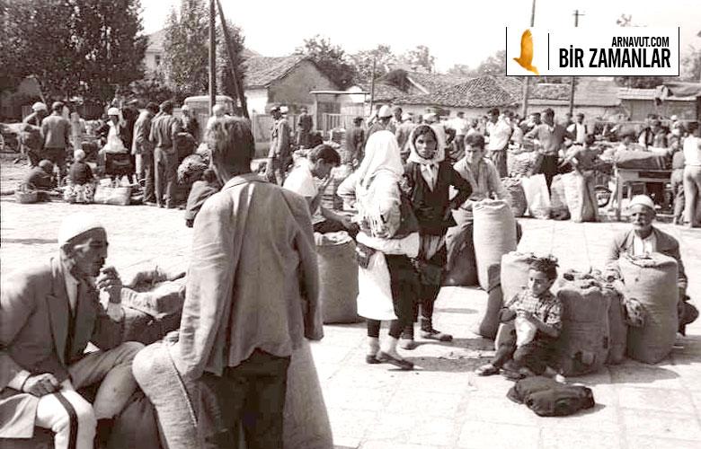 Kosova Prizren'de pazar yeri