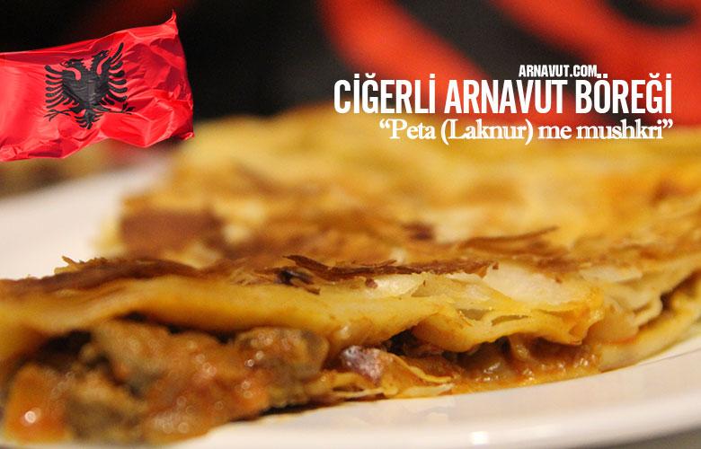 Ciğerli Arnavut Böreği resmi