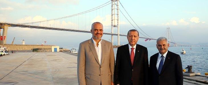 Edi Rama Tayyip Erdoğan