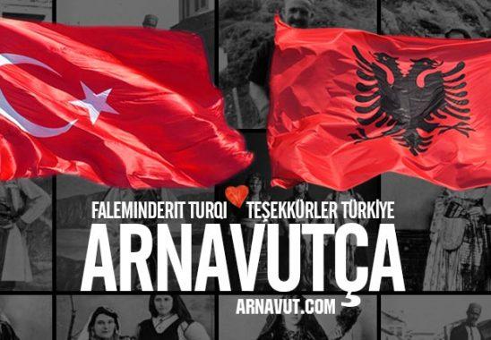 Faleminderit Türkiye