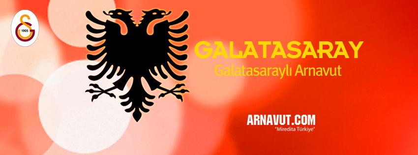 Galatasararaylı Arnavut facebook kapak fotoğrafı