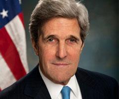 John Kerry Arnavutluk'ta