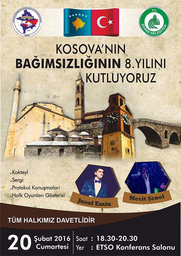 Kosova Etkinlikleri Edirne