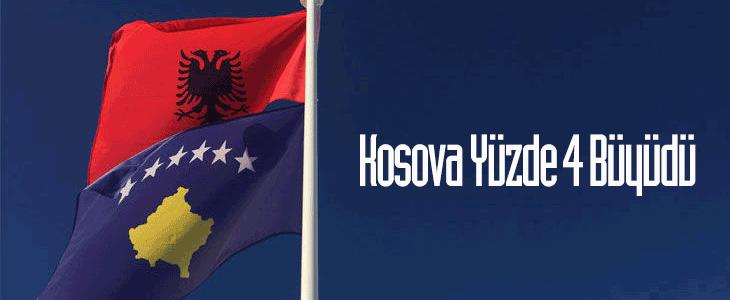 Kosova Cumhuriyeti Ekonomide Yüzde 4 Büyüdü