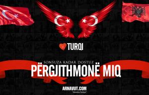 Türkiye-Arnavutluk dostluğu