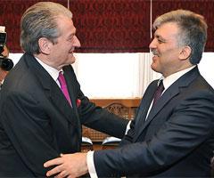 Sali Berisha Abdullah Gül