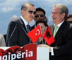 Sali Berisha Tayyip Erdoğan