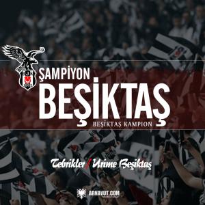 Şampiyon Beşiktaş görseli