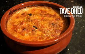Tave Dheu- Ciğerli Arnavut Yemeği